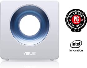 Asus Blue Cave AC2600 Dual-Band Wireless Router for Smart Homes, Featuring Intel Wifi..