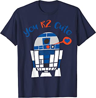 Star Wars R2-D2 Too Cute Valentine's Day Graphic T-Shirt