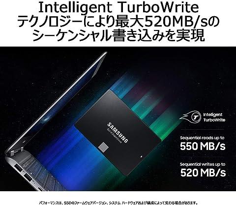 Samsung M.2 SSD 860 EVO Intelligent TurboWrite