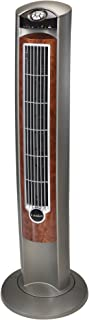 "Lasko Wind Curve Portable Electric 42"" Oscillating Tower Fan with Fresh Air Ionizer,.."