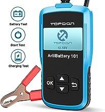 TT TOPDON Car Battery Tester – 12v Car Battery Load Tester on Cranking Charging..