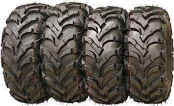 Set of 4 New AT MASTER ATV/UTV Tires 22×7-11 Front & 22×10-9 Rear /6PR..