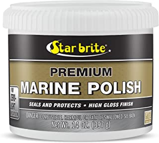 STAR BRITE Premium Marine Polish with PTEF – Boat Wax That Seals & Protects Gel..