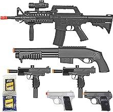 BBTac Airsoft Gun Package – Black Ops – Collection of Airsoft Guns –..