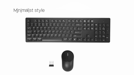 RATEL-Wireless-Keyboard-Mouse-Combo-24GHz-Slim-Full-Sized-Silent-Wireless-Keyboard-and-Mouse-Combo-with-USB-Nano-Receiver-for-Laptop-PC-Pink