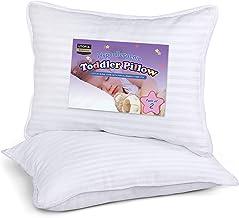 Utopia Bedding 2 Pack Toddler Pillow – Baby Pillows for Sleeping – Cotton..