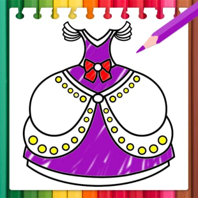 Dresses Coloring Book is very easy to use: * download game Dresses Coloring Book from amazon app store * open and select a coloring page of Dresses Coloring Book * zoom in, zoom out for coloring small details of Dresses * select another one picture i...
