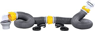 Camco 39658 Deluxe 20' Sewer Hose Kit with Swivel Fittings- Ready To Use Kit..