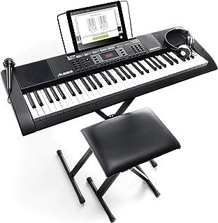 Alesis Melody 61 MKII   61 Key Portable Keyboard with Built In Speakers, Headphones,..