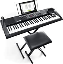 Alesis Melody 61 MKII | 61 Key Portable Keyboard with Built In Speakers, Headphones,..
