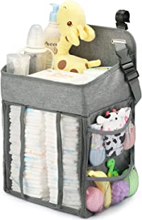 Changing Table Diaper Organizer – Baby Hanging Diaper Stacker Nursery Caddy..