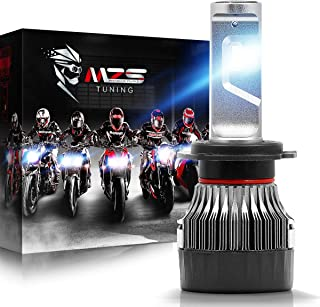 MZS H7 LED Headlight Bulb Single for Motorcycle,Mini Conversion Kit – CREE Chips..
