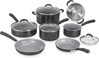 Cuisinart Advantage Ceramica XT Cookware Set, Medium, Black