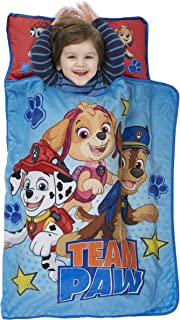 Paw Patrol Team Paw Toddler Nap Mat – Includes Pillow & Fleece Blanket –..