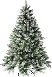 Northlight Angel Pine Cones Christmas Tree, 6', Green