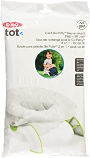 OXO Tot 2-in-1 Go Potty Refill Bags, 30 Count