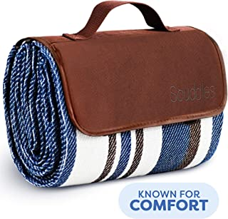 Extra Large Picnic & Outdoor Blanket Dual Layers for Outdoor Water-Resistant Handy..