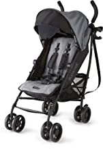 Summer 3Dlite+ Convenience Stroller, Matte Gray  – Lightweight Umbrella Stroller with..