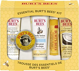 Burt's Bees Essential Gift Set, 5 Travel Size Products – Deep Cleansing Cream,..
