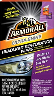 Armor All Car Headlights Cleaner Wipes – Cleaning for Cars And Truck And..