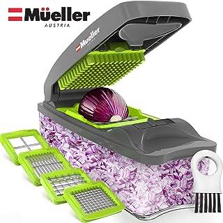 Mueller Austria Onion Chopper Pro Vegetable Chopper – Strongest – 30% Heavier..