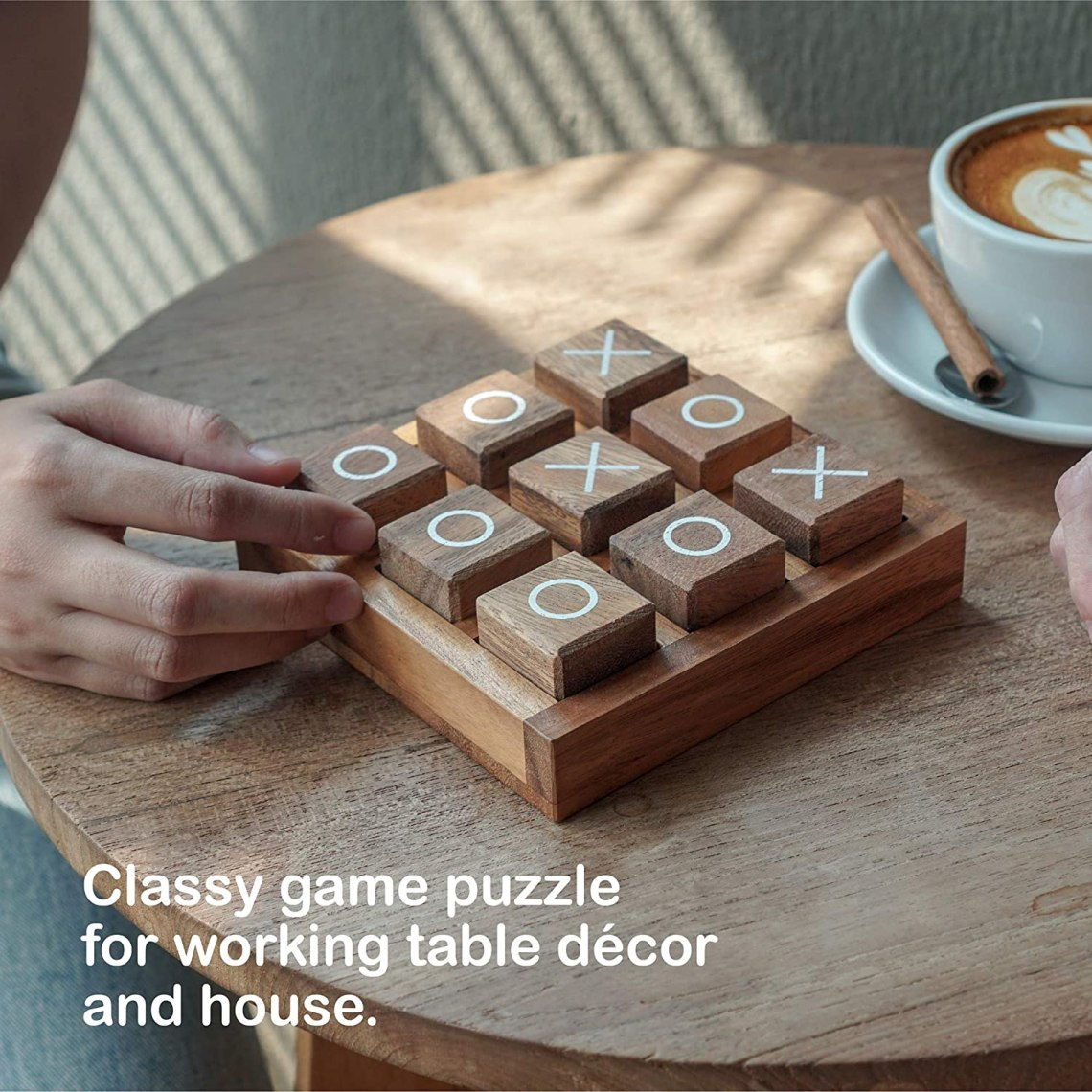 Buy Tic Tac Toe Game For Kids And Family Board Games 3d Travel Of Living Room Decor And Coffee Top Table Games Decor Family Games Night Classic Board Tictactoe Online In Indonesia