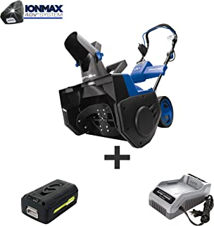 Snow Joe iON21SB-PRO 40-Volt iONMAX Cordless Brushless Single Stage Snow Blower Kit |..