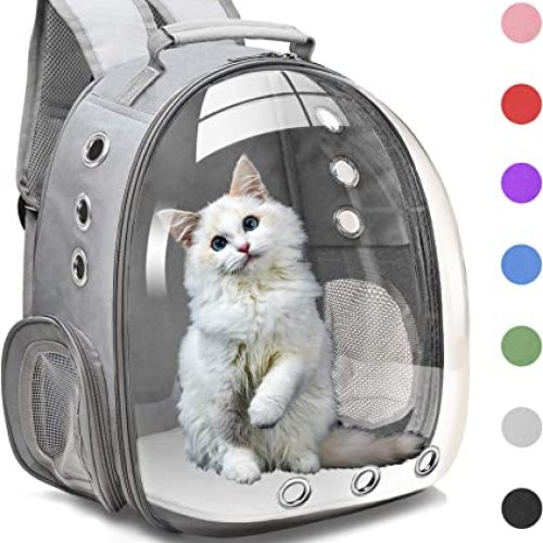 Cat Backpack Carrier Bubble Bag