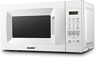 COMFEE' EM720CPL-PM Countertop Microwave Oven with Sound On/Off, ECO Mode and Easy..