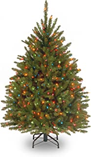 National Tree Company Pre-lit Artificial Christmas Tree | Includes Pre-strung Multi-Color..