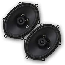CT Sounds 5×7 Inch Coaxial Car Speakers (Pair), 2 Way Full Range, 30W (RMS) | 60W..