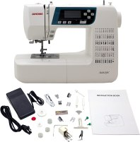Janome 3160qdc review & Accessories