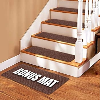 Stair Treads Carpet 14 Non Slip Carpet Stair Treads Double   Painted Stairs With Carpet Treads   Oak   Wallpaper   Non Slip   Retrotread   Hardwood