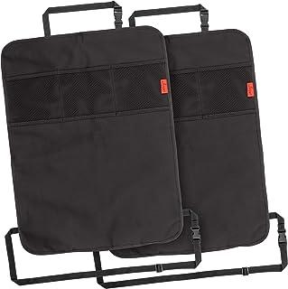Lusso Gear Heavy Duty Kick Mats Back Seat Protector (2 Pk) – Sag Proof, Waterproof,..