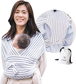 Konny Baby Carrier | Ultra-Lightweight, Hassle-Free Baby Wrap Sling | Newborns, Infants..
