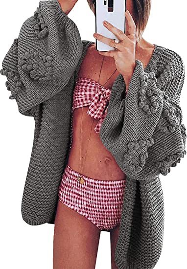 grey gray feminine cardigan with beautiful details