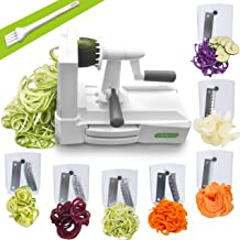 Spiralizer Ultimate 7 Strongest-and-Heaviest Duty Vegetable Slicer Best Veggie Pasta..