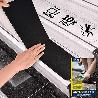 Amazon Com Peel And Stick Stair Treads | Stick On Stair Runners | Hardwood | Stick Serged | Beige Carpet | Wood | Carpet Tiles