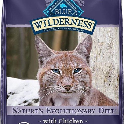 Blue Buffalo Wilderness Grain Free Dry Cat Food