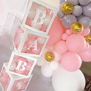 56-piece Balloon Box for Baby Shower Decorations For Boy, Girl And Neutral. – 40..