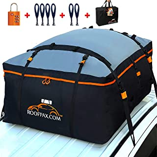 RoofPax Car Roof Bag & Rooftop Cargo Carrier. 19 Cubic Feet. 100% Waterproof..