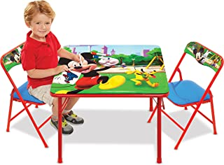 Jakks Mickey Mouse Table & Chairs Set for Kids – Furniture