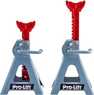Pro-LifT T-6903D Double Pin Jack Stand – 3 Ton, 1 Pack