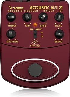 Behringer V-Tone Acoustic Driver DI ADI21 Amp Modeler/Direct Recording Preamp/DI Box