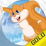 Flying Cute Squirrel Jump : The quest for infinite nut before winter comes - Gold Edition