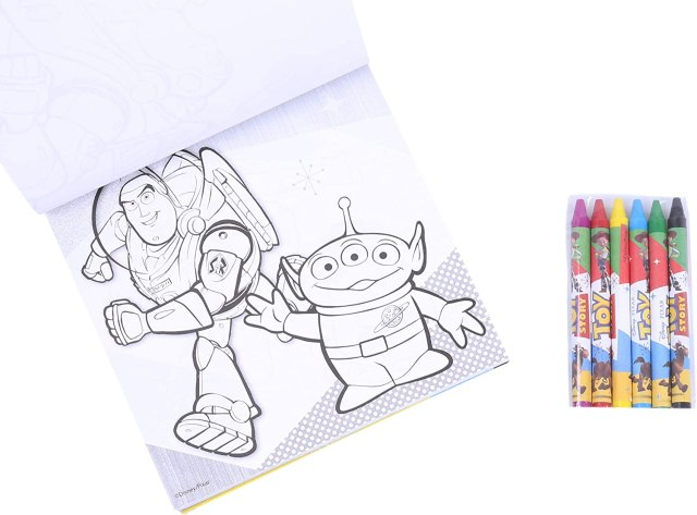 Coloriage Crayons À Bougies + Coloriage Toy Story DISNEY : Amazon