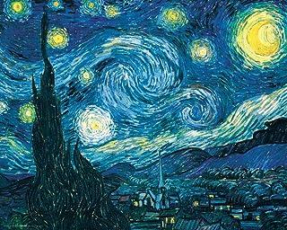 Culturenik Vincent Van Gogh Starry Night Night Decorative Fine Art Poster Print, Unframed 16×20