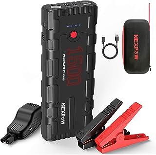 NEXPOW Car Battery Starter, 1500A Peak 21800mAh 12V Portable Auto Car Battery Charger..