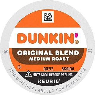 Dunkin' Original Blend Medium Roast Coffee, 60 K Cups for Keurig Coffee Makers..