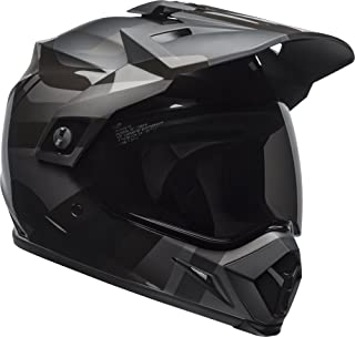 Bell MX-9 Adventure MIPS Dirt Helmet (Marauder Matte/Gloss Blackout – Large)